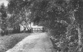 Old Postcard of Footpath