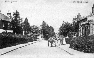 Old Postcard of Dormansland High Street
