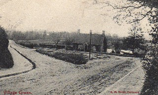 Old Postcard of Crossroads, Dormansland