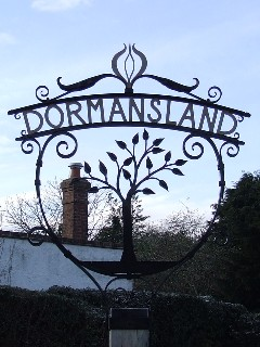Photo of Dormansland sign