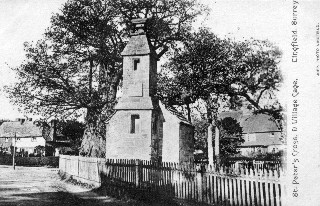 Old Postcard of St Peter's Cross, Lingfield
